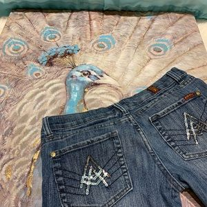 7 For All Mankind Bootcut Crop Jeans Size 29